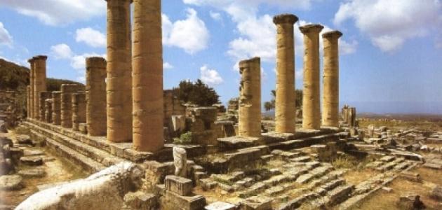 مدينة شحات في ليبيا