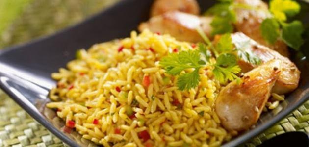 تحضير الأرز المبهر