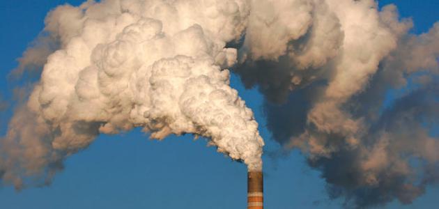 مظاهر التلوث الهوائي