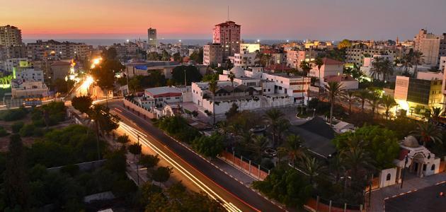 مدينة غزة جغرافياً