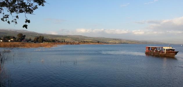معلومات عن مخاطر السباحة في بحيرة طبريا