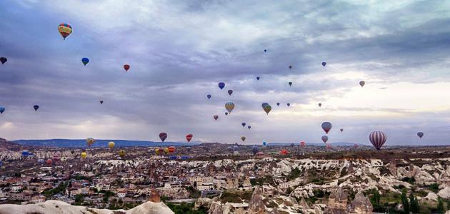 مدينة كابادوكيا في تركيا