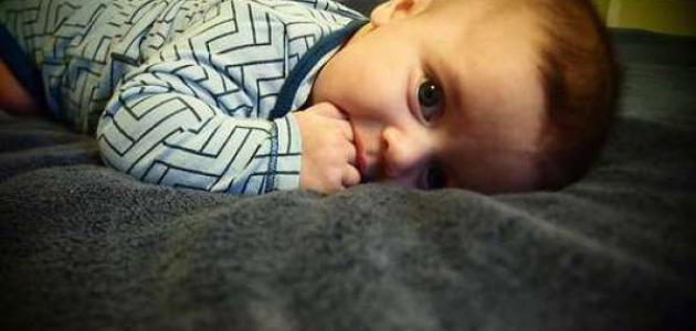 مشكلة عدم نوم الطفل الرضيع
