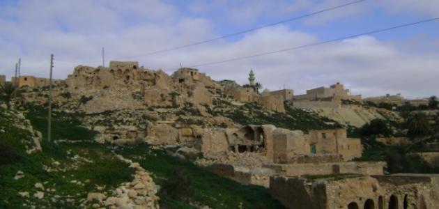مدينة يفرن الليبية
