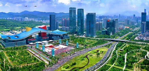 مدينة شنجن في الصين