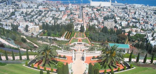 مدينة حيفا في فلسطين