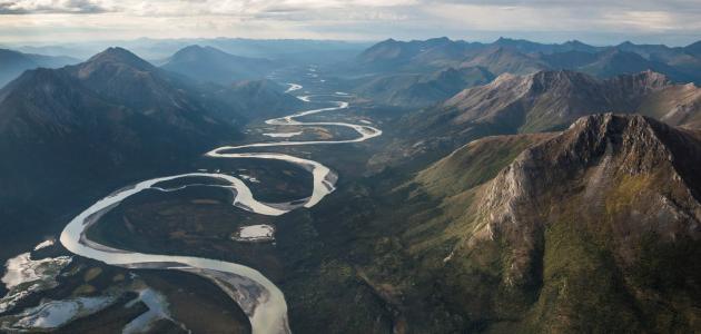 مراحل تطور النهر