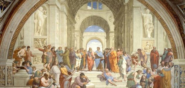 مراحل تطور الفلسفة عند اليونان