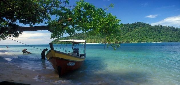 جزيرة لنكاوي في دولة ماليزيا
