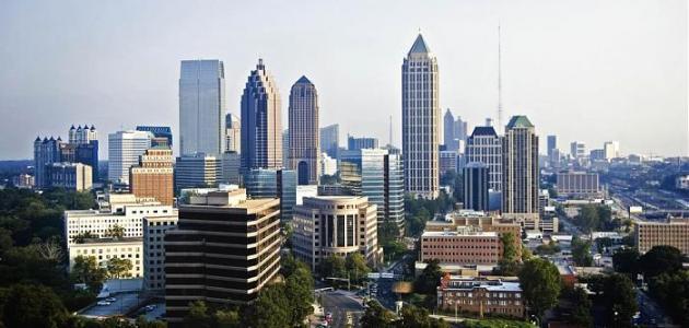 مدينة أتلانتا في ولاية جورجيا