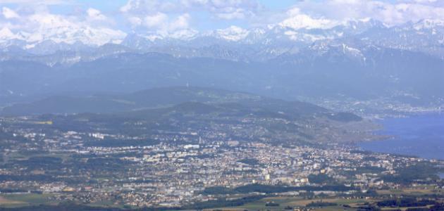مدينة لوزان الفرنسية