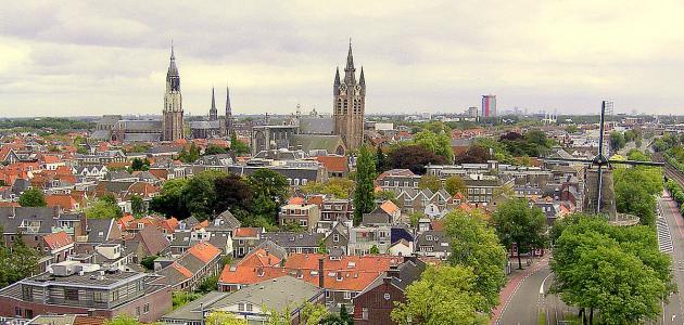 مدينة دلفت في هولندا