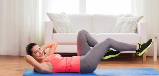 طرق ممارسة الرياضة في المنزل