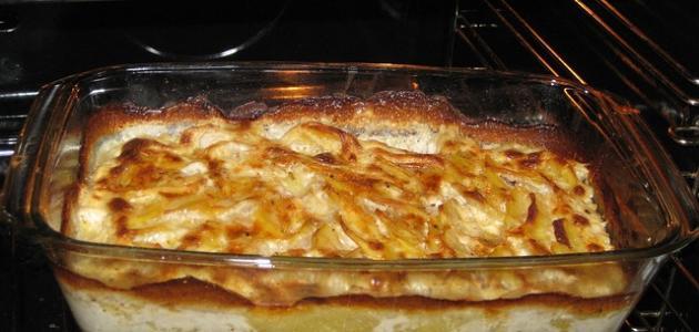 طرق عمل البطاطس في الفرن