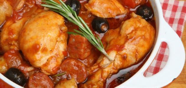 طرق عمل صواني الدجاج بالفرن