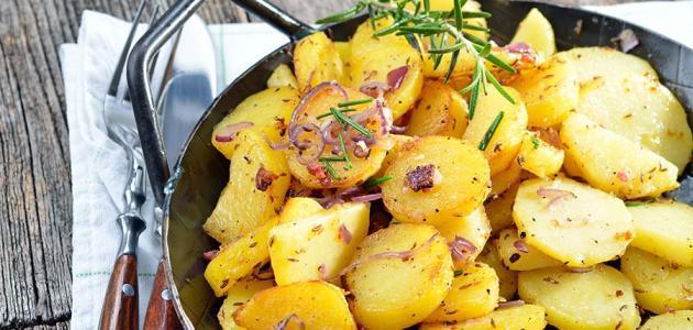 طرق متنوعة لعمل البطاطس