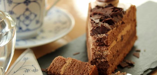 طريقة إعداد كيكة الشوكولاتة