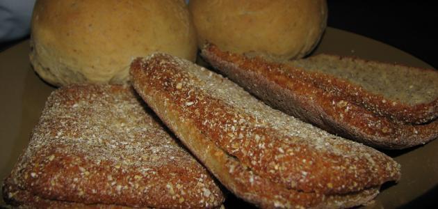 صنع خبز الشوفان