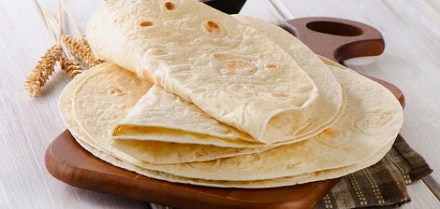 طريقة استخدام خبز التورتيلا