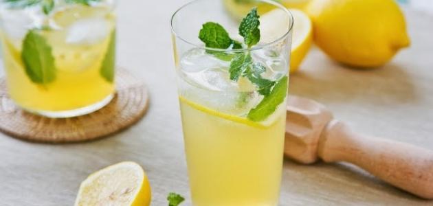 طرق عمل عصير الليمون