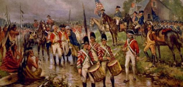 مراحل الثورة الأمريكية