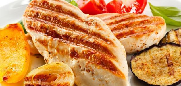 طرق عمل دجاج مسحب