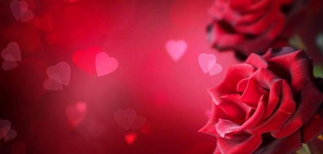 اشعار حب جميلة