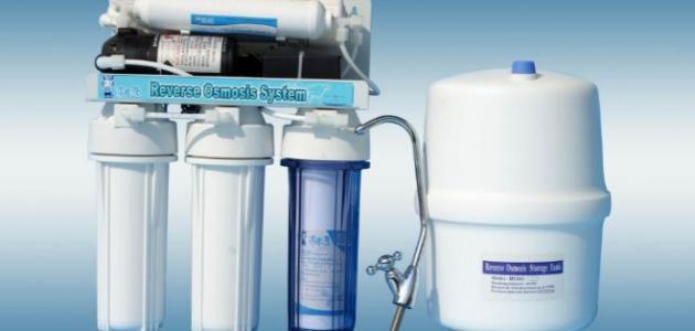 مراحل فلترة المياه