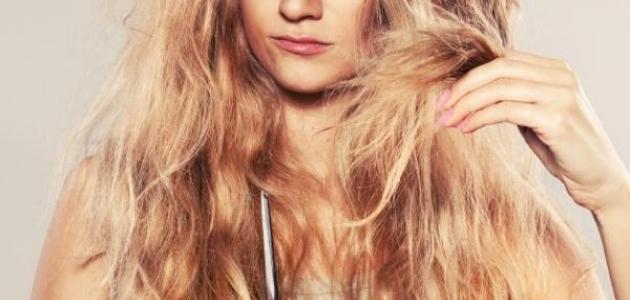 طرق معالجة الشعر المتقصف