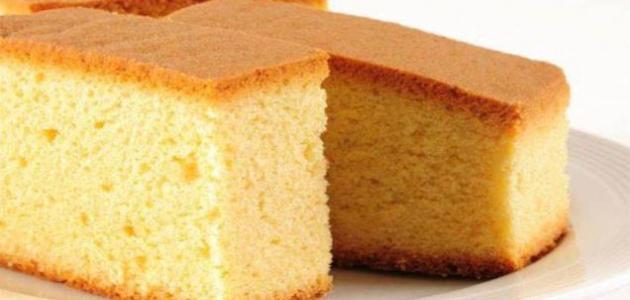 شرح طريقة عمل الكيكة الإسفنجية