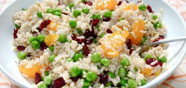 طريقة إعداد سلطة الأرز