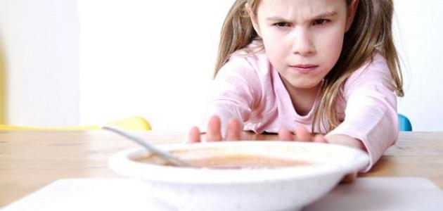 فقدان شهية الطفل