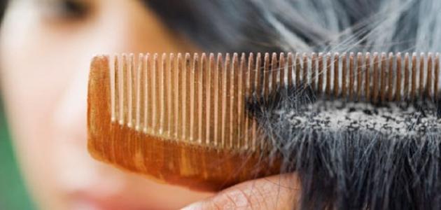 طرق معالجة قشرة الشعر