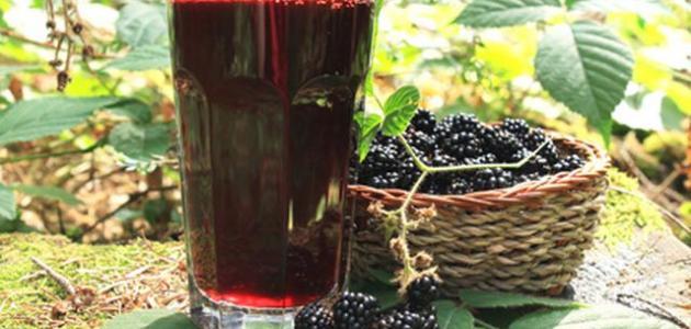 صنع شراب التوت الشامي - موضوع