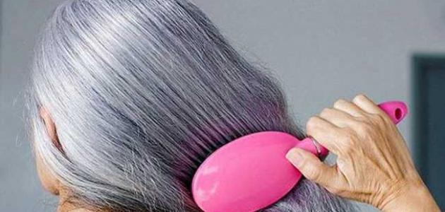 تقليل ظهور الشيب في الشعر