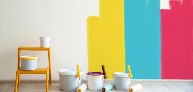 طريقة اختيار ألوان الجدران