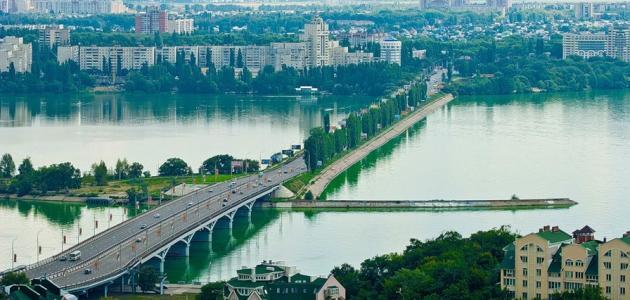 مدينة فورونيج الروسية