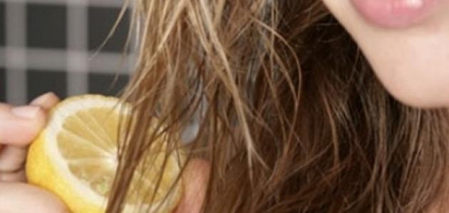 تلوين الشعر بطرق طبيعية بدون حناء