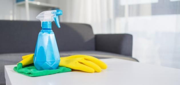 صناعة المنظفات في المنزل