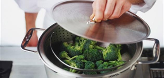 طرق الطبخ بالبخار