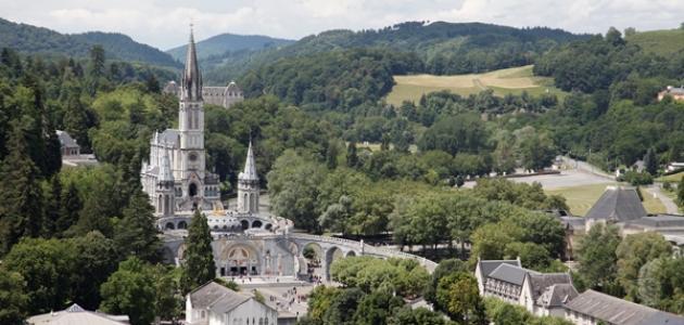 مدينة لورد في فرنسا