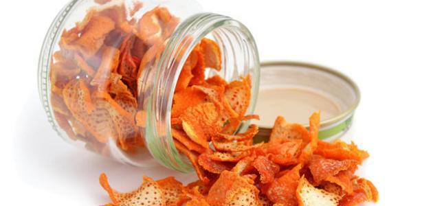 طرق الاستفادة من قشر البرتقال