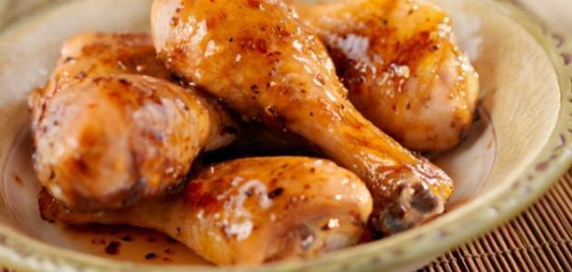 طريقة أفخاذ الدجاج بالعجين