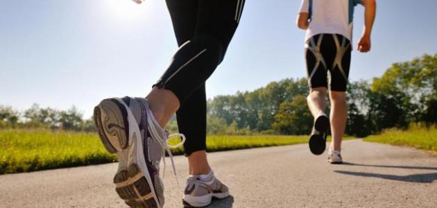 الجري لحرق الدهون