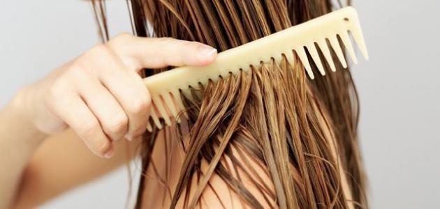 طرق غسل الشعر دون شامبو