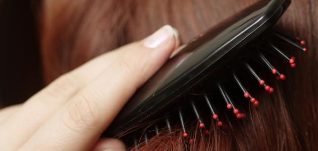 طرق بسيطة لفرد الشعر