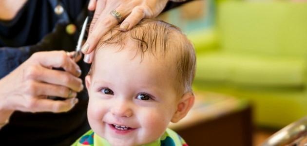 فوائد قص الشعر للأطفال الرضع