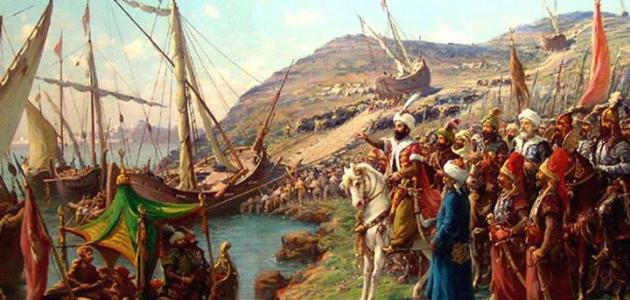 من أول من ركب بحر الروم