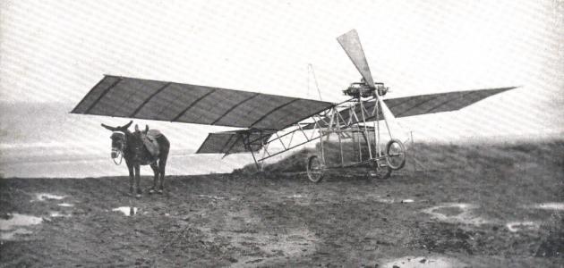 من مخترع الطائرة