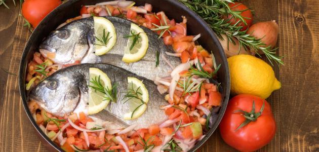 طرق إعداد السمك
